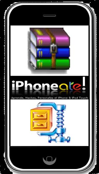 Descomprimir archivos RAR y ZIP en iPhone & iPod Touch