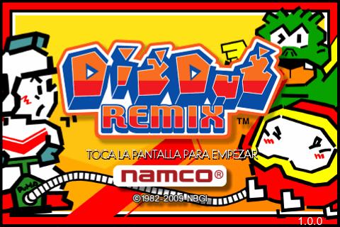 Dig Dug Remix 1.0.0-01