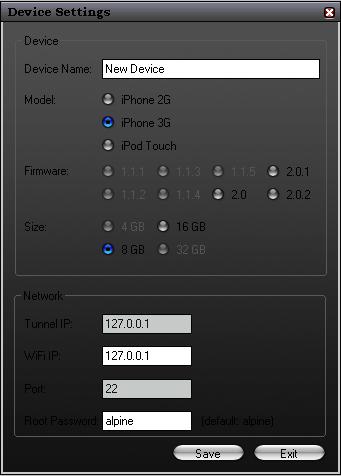 Iphone Tunnel Suite 2.7 Beta accede a SSH por USB (OS 3.0) 3
