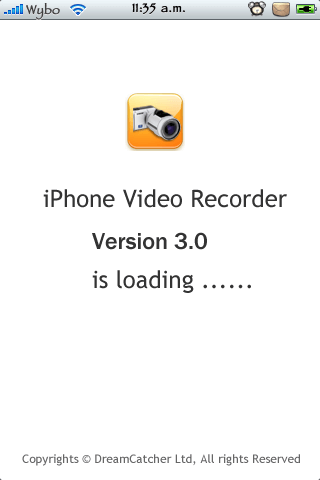 iPhone Video Recorder para Firm 3