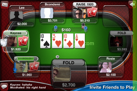 Live Poker Deluxe 1M by Zynga 2.7 2