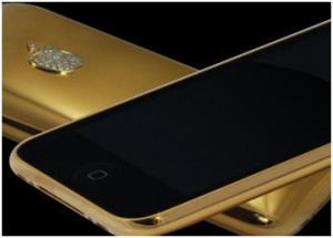 Lujoso iPhone 3G de 24 kilates