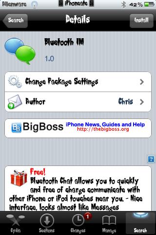 Bluetooth IM 1.0-01