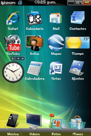 Theme: iphoners Vista Theme 1.0