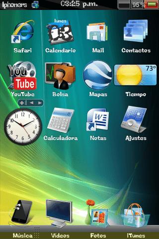 Theme: iphoners Vista Theme 1.0