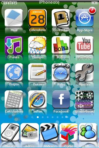 Theme Obama iPhoneate V. 1.0
