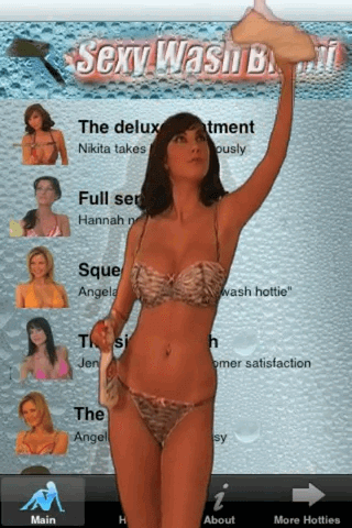 Sexy Wash Video Bikini & Lingerie1.1-05