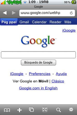 iCab Mobile (Web Browser) 1.7-02