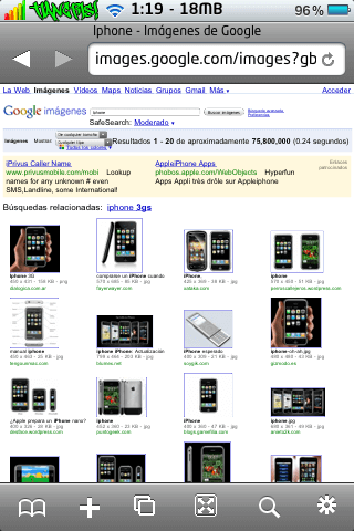 iCab Mobile (Web Browser) 1.7-04