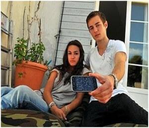 iPhone Explota en la cara de joven francés