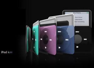 iPod slide