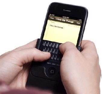 El iPhone necesita teclado fisico
