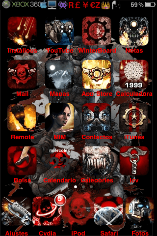 Theme Gears Of War (versión 1.0) - 2