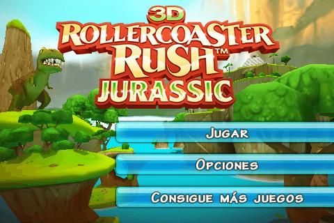 Jurassic 3D Rollercoaster Rush 1.0.1-01