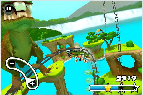 Jurassic 3D Rollercoaster Rush 1.0.1-02