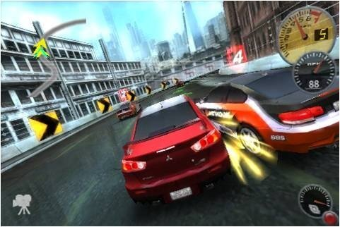 Need for Speed Shift, para iPhone & iPod Touch5