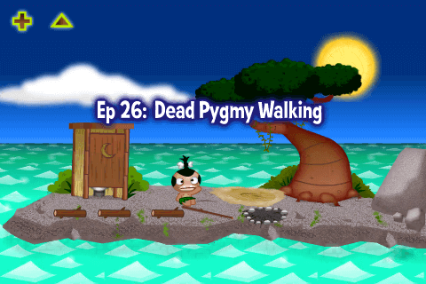 Pocket God Episodio 26 Pigmeo Zombie-01