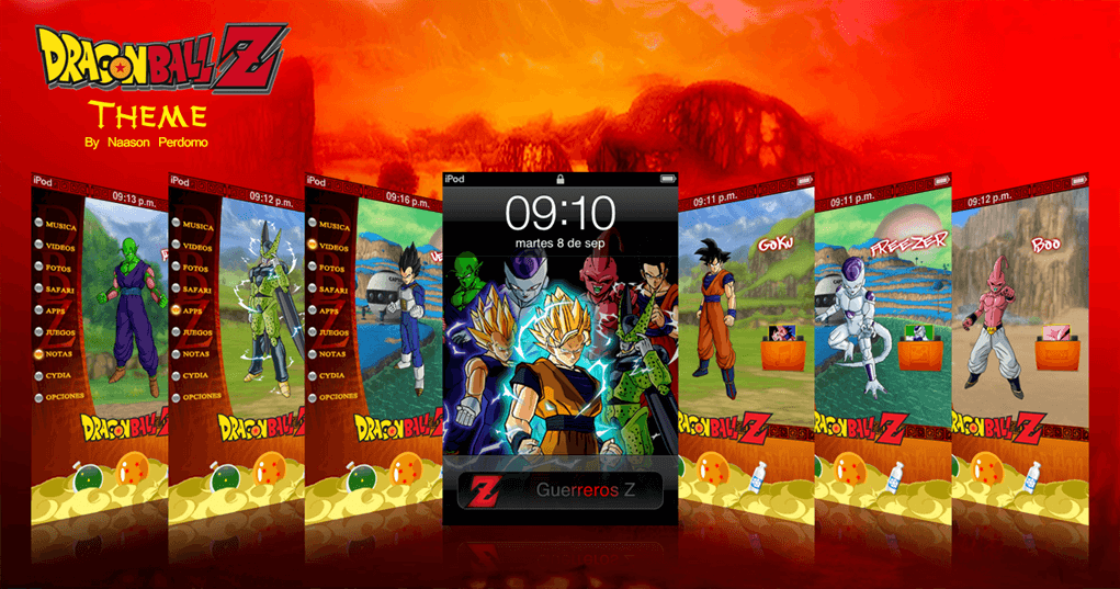 Theme: Dragon Ball Z NP 1.0 1