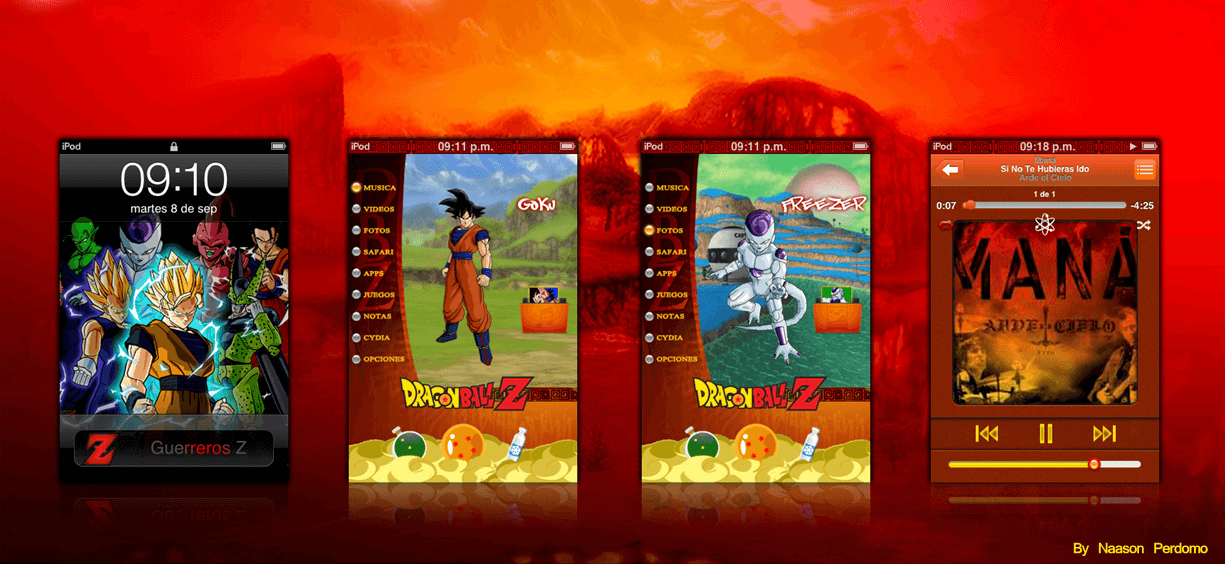 Theme: Dragon Ball Z NP 1.0 2