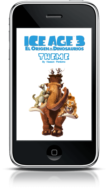 Theme Ice Age 3: Dawn of the Dinosaurs NP