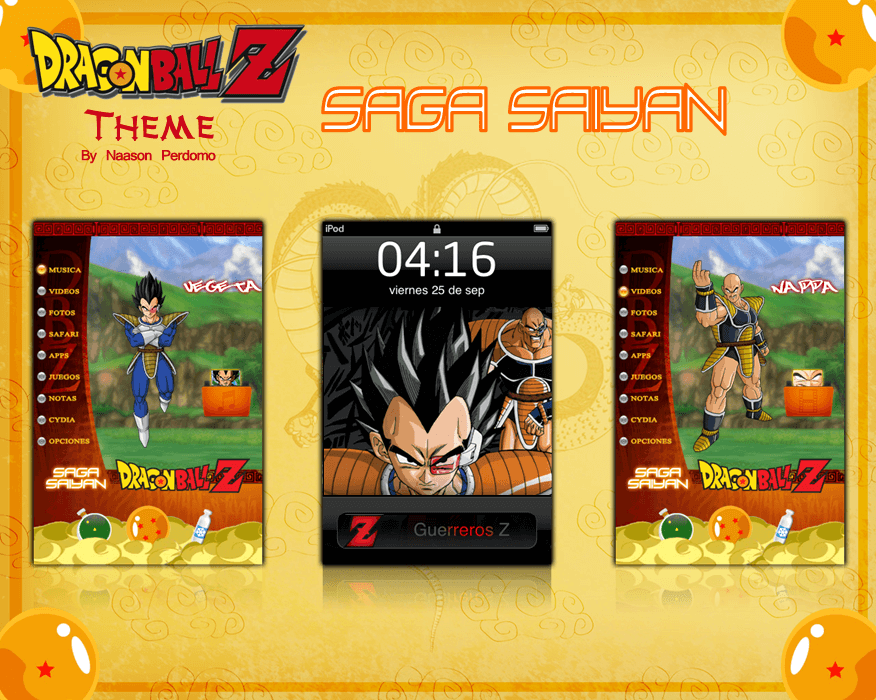 Theme: Dragon Ball Z Saga Saiyan NP 3.0 - 1