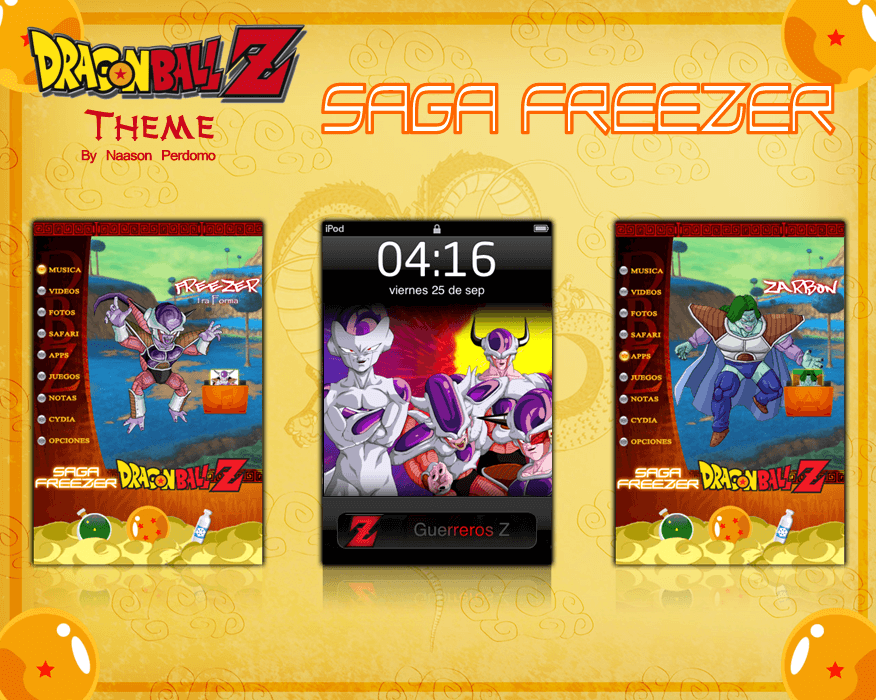 Theme: Dragon Ball Z Saga Freezer NP 4.0 - 1