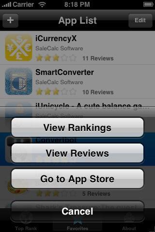 App Rank 1.0.1