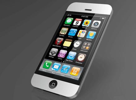 Concepto de iPhone 4G, al estilo iMac