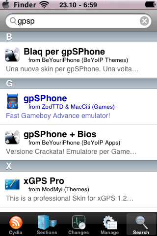 gpSPhone compatible con 3.1-3