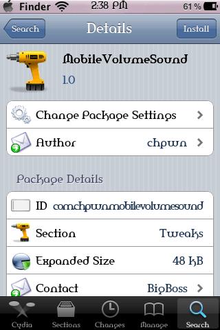 MobileVolumeSound 1.0
