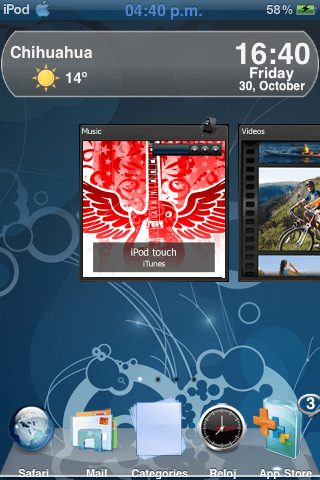 Theme iNav HP TouchSmart 1.0
