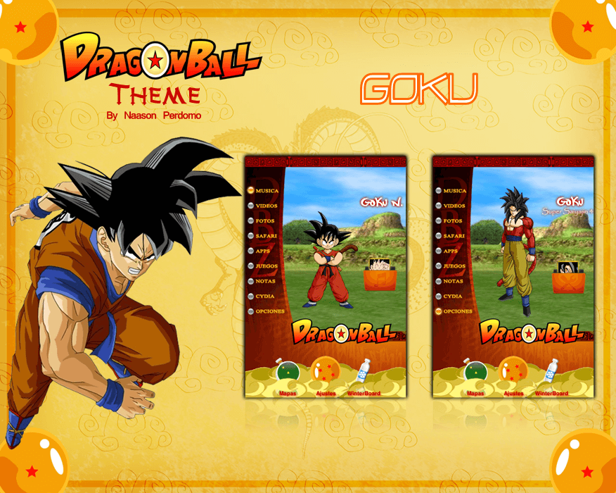 Theme: Dragon Ball Goku NP 8.0 - 1