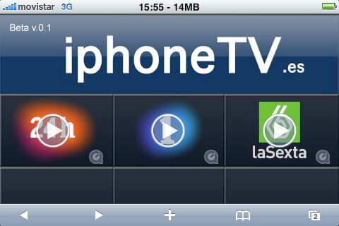 TV desde Iphone/Ipod touch por 3G o Wifi