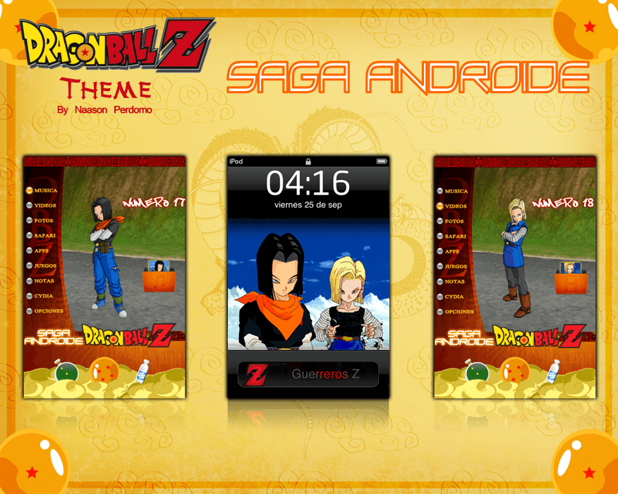 Theme: Dragon Ball Z Saga Androide NP 5.0 - 1