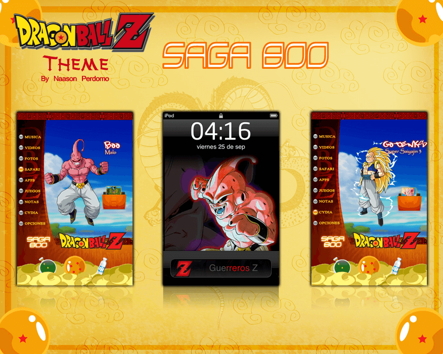 Theme: Dragon Ball Z Saga Boo NP 7.0 - 1