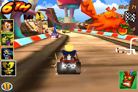 Crash Bandicoot Nitro Kart 3D 1.0-02