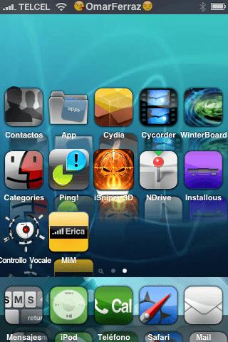 Theme iMac Blue