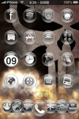 Tema Video y 7 Icon Dock - 2