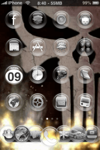 Tema Video y 7 Icon Dock