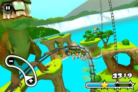 Jurassic 3D Rollercoaster Rush 1.0.4-01