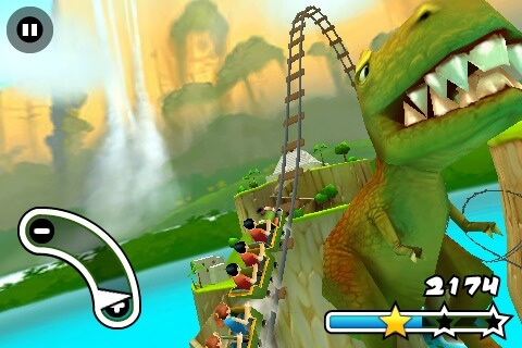 Jurassic 3D Rollercoaster Rush 1.0.4-03