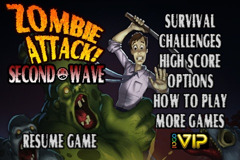 Zombie Attack! Second Wave 1.0-01