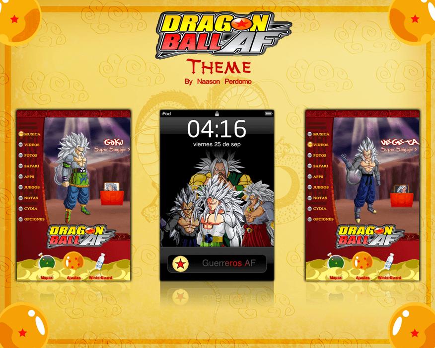 Theme: Dragon Ball AF NP 1.0 - 1