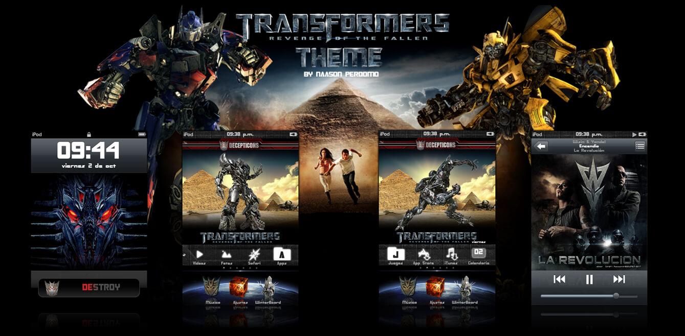 Theme: Transformers 2 Decepticons NP - 1