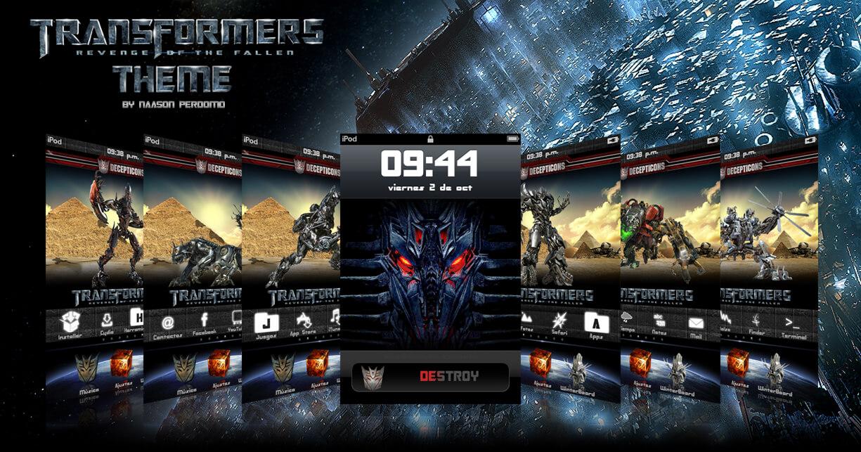 Theme: Transformers 2 Decepticons NP 1.0 - 2