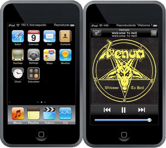 iPod Touch: Skin para Windows Media Player • iPhoneate ...