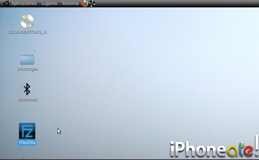Accede via SSH y visualiza el iPhonei-Pod con VNC en Linux- 01