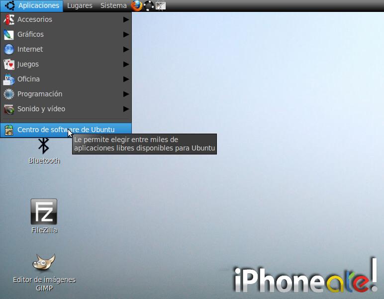 Accede via SSH y visualiza el iPhonei-Pod con VNC en Linux- 02