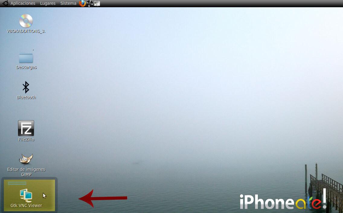 Accede via SSH y visualiza el iPhonei-Pod con VNC en Linux- 07