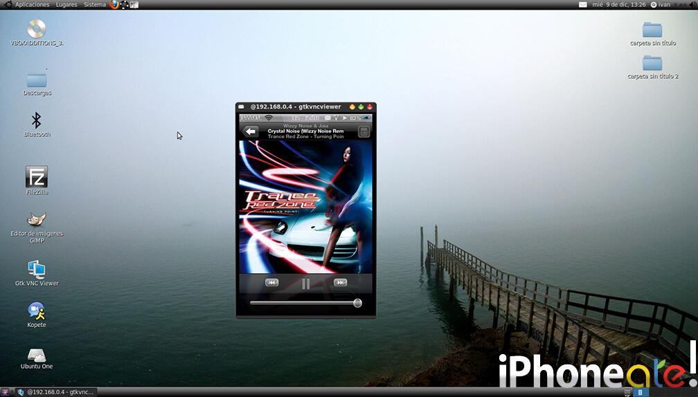 Accede via SSH y visualiza el iPhonei-Pod con VNC en Linux- 09
